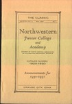 The Classic, Spring 1930 by Northwestern Junior College and Classical Academy