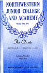 The Classic, Winter 1951 by Northwestern Junior College and Classical Academy