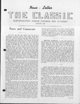 The Classic, August 1952 by Northwestern Junior College and Classical Academy