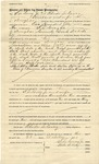 Warranty Deed of F LeCocq Jr. and Rhoda LeCocq, October 22, 1901