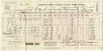 1905 Taxes for Frank, Sr. and Cornelia LeCocq, August 21, 1906