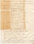 Poem by Frank LeCocq, Sr., n.d. by Frank LeCocq Sr