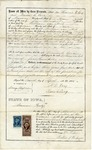 Mortgage Contract of F LeCocq Sr. and Maria LeCocq, April 7, 1865