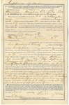 Order contract of new safe for F LeCocq & Co, July 7, 1886 by Frank LeCocq Sr