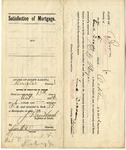 Satisfaction of Mortgage Contract of F LeCocq Sr. and Maria LeCocq, October 6, 1906 by Frank LeCocq Sr