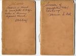 Covers of sermon books of F LeCocq Sr