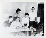 Jacob Heemstra and Students