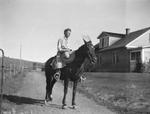 Henrina Hospers, on Horse