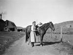 Hendrina Hospers, By Horse
