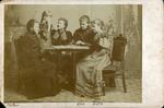 Mrs. Hendrika Hospers with Eva & Arta Hospers by Hospers Family