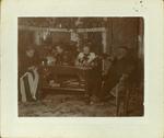 Henry Hospers with wife Henrdrina Overkamp Hospers and children Hendrine and Arta