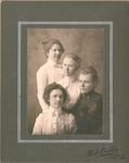 Eva Hospers, Hendrina Hospers, Arta Hospers, Lydia Schultz by Hospers Family