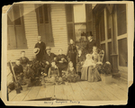 Henry Hospers Family on Porch by Hospers Family