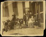Henry Hospers Family on Porch