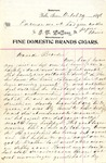 Letter from Jan LeCocq to Frank LeCocq, Sr., October 29, 1896 by Jan LeCocq