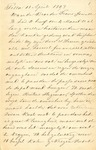 Letter from Jan LeCocq to Frank LeCocq, Sr., April 11, 1897