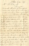 Letter from Jan LeCocq to Frank LeCocq, Sr., January 10, 1899 by Jan LeCocq