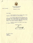 Letter from Henry M. Jackson to Ralph B. LeCocq, January 22, 1966 by Henry M. Jackson