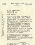 Letter from Ralph B. LeCocq to Nelson Nieuwenhuis, February 27, 1971