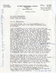Letter from Ralph B. LeCocq to Nelson Nieuwenhuis, October 4, 1972 by Ralph B. LeCocq