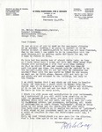Letter from Ralph B. LeCocq to Nelson Nieuwenhuis, February 13, 1974 by Ralph B. LeCocq
