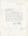 Letter from Rhoda P. LeCocq to Nelson Nieuwenhuis, December 3, 1984 by Rhoda P. LeCocq