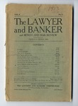 The Pigeon and the Law, from the Lawyer and Banker and Bench and Bar Review