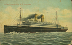 Passenger Ship Postcard