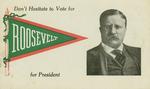 Political Postcard, T. Roosevelt