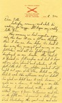Letter from Fort Sill, Oklahoma, November  12, 1941