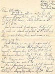 Letter from Camp Bowie, Texas,  February 7, 1942