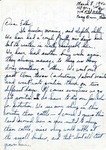 Letter from Camp Bowie, Texas,  March 8, 1942