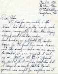 Letter from Camp Bowie, Texas, April 12, 1942