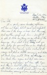 Letter from Camp Bowie, Texas, April 25, 1942