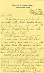 Letter from Camp Bowie, Texas, June 14, 1942