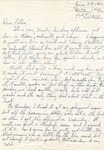 Letter from Camp Bowie, Texas, June 28, 1942