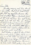 Letter from Camp Bowie, Texas, July 5, 1942