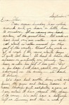 Letter from Fort Sill, Oklahoma, September 6, 1942 by Ralph Mouw