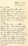 Letter from Ralph, February 14, 1943 by Ralph Mouw