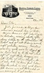 Letter from Fort Leonard Wood, Missouri, November 8, 1943 by Ralph Mouw