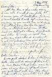 Letter from Somewhere in England, May 7, 1944 by Ralph Mouw