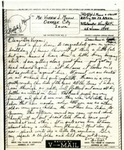 Letter from Somewhere in France, June 25, 1944 by Ralph Mouw