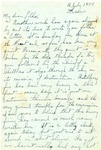 Letter from France, July 16, 1944 by Ralph Mouw