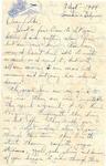 Letter from Somewhere in Belgium, September 9, 1944