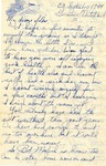 Letter from Germany, September 20, 1944 by Ralph Mouw