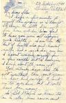 Letter from Germany, September 20, 1944