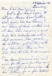 Letter from Germany, September 29, 1944
