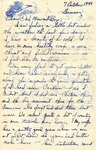 Letter from Germany, October 7, 1944