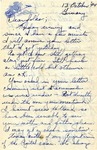 Letter from Germany, October 13, 1944