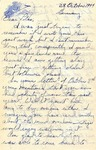 Letter from Germany, October 28, 1944